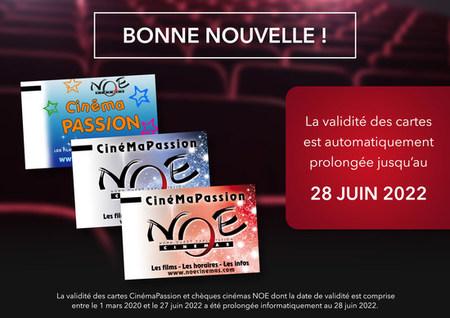 Cartes abonnements et Tickets CE Cinémapassion