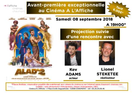 """Avant-première exceptionnelle """"ALAD'2"""" en présence de l'équipe du film"""