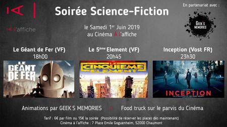 Soirée science-fiction