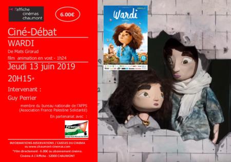 """Ciné-débat """"WARDI"""" en vost"""