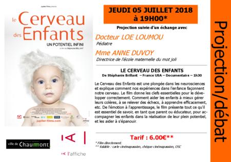 """SOIRÉE DÉBAT """"LE CERVEAU DES ENFANTS"""""""