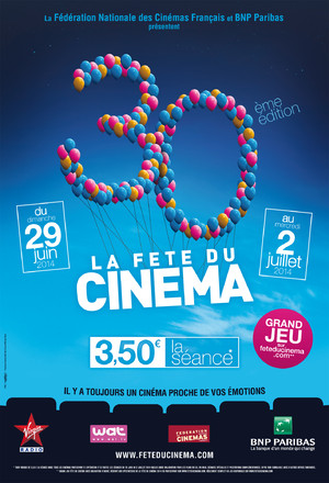 LA FETE DU CINEMA 2014